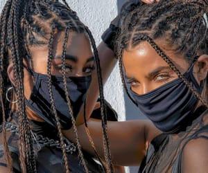 badass, bff, and braids image