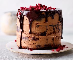 cake, delicious food, and dessert image