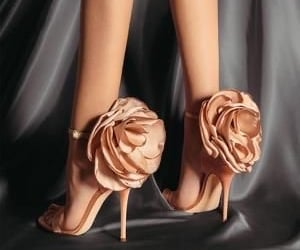 beautiful, high heels, and shoes image