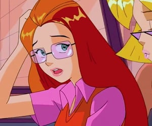 cartoon, Sam, and totally spies image