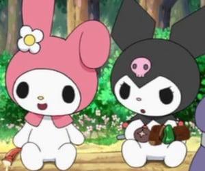 cute, kuromi, and cartoon image
