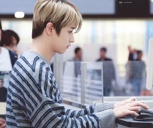 airport, boy, and korean image