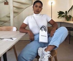 Balenciaga, j, and outfit image
