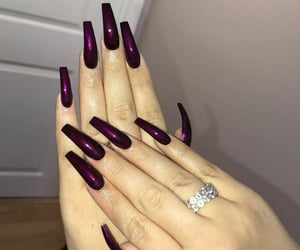nails, goals, and manicure image