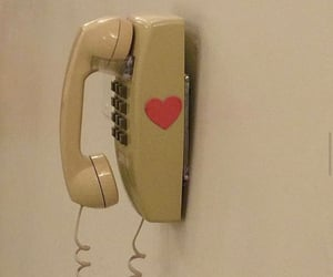 aesthetic, phone, and heart image