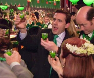 irish, the office, and lucky image