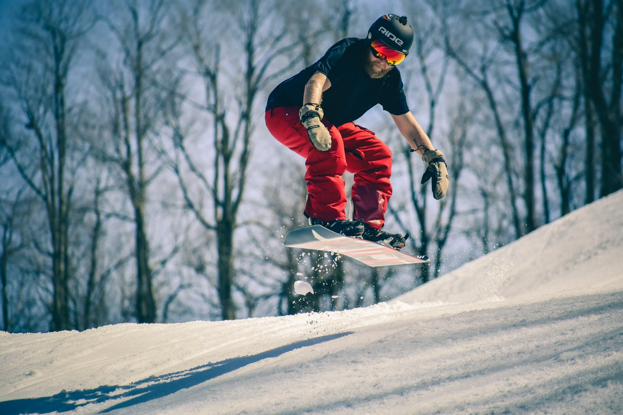 article, snowboarding, and snowboard bindings image