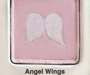 pink, angel, and eyeshadow image