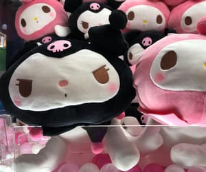 aesthetic, goth, and plushies image