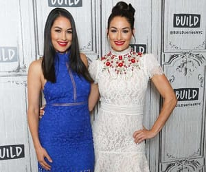 brie bella, the bella twins, and nikki bella image