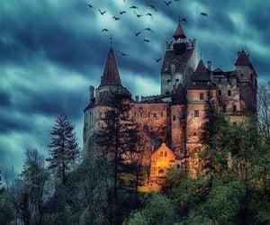 castle, travel, and romania image