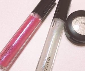 glitter, lip gloss, and mac image