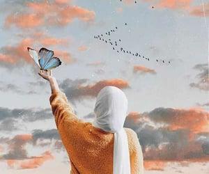hijab, muslim, and girl image