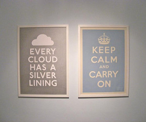 cloud, keep calm, and carry on image