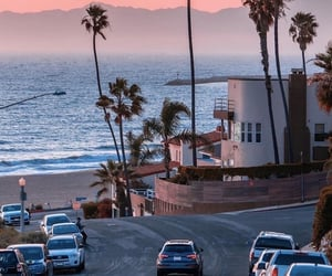 america, beautiful, and california image
