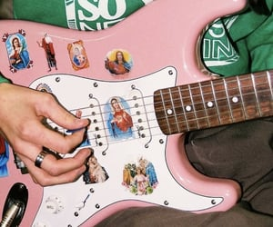 guitar, aesthetic, and music image