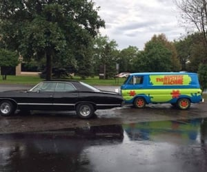 supernatural and scooby doo image