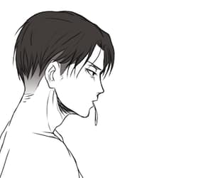 gif, levi rivaille, and snk image