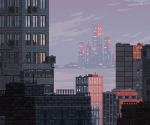 aesthetic, city, and wallpaper image