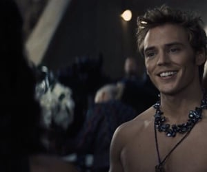 the hunger games, finnick odair, and sam claflin image