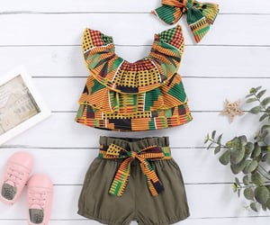 baby clothes, chic set, and fashionable set image