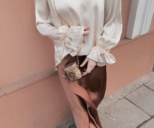 fashion, outfit, and purse image
