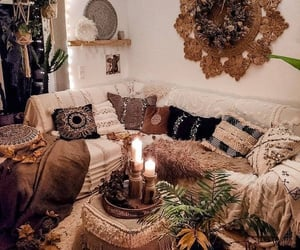 decor, home, and cozy image