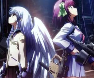 angel beats, anime, and angel image