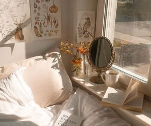 aesthetic, book, and bedroom image