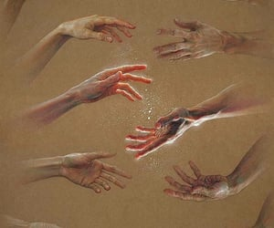 arms, hands, and human image
