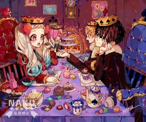 jibaku shounen hanako kun, anime, and cute image