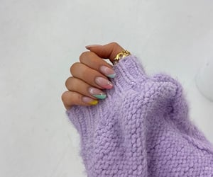 art, nails, and aesthetic image