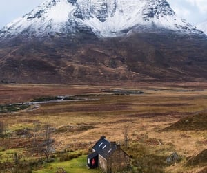 cottage, scotland, and country image