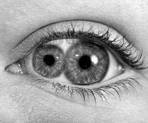 black and white, olhos, and eyes image