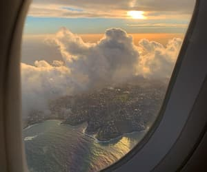 travel, sky, and view image