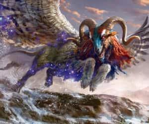 art, chimera, and fantasy image