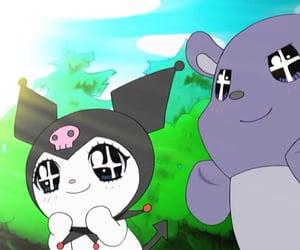 anime, kuromi, and mood image