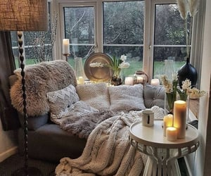home, decor, and cozy image