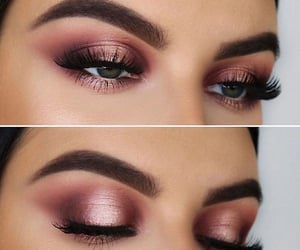belleza, ojos, and maquillaje image