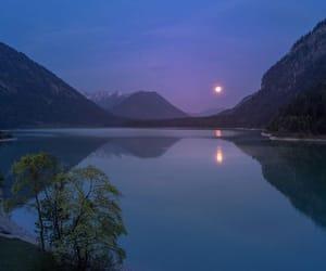 blue, mountains, and lake image