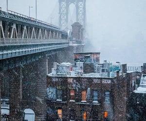 architecture, city, and bridge image