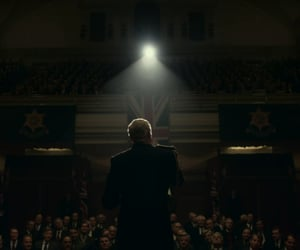 film, speech, and scene image