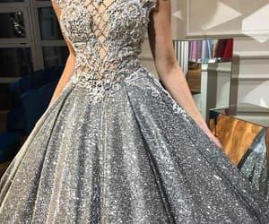 elegant prom dresses, beaded prom dresses, and sparkly prom dress image
