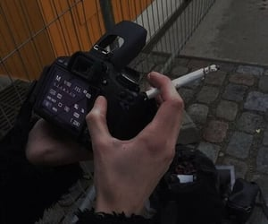 cigarette, grunge, and aesthetic image