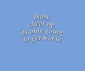 quotes, blue, and baby image