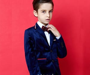 fashion, royal blue suits, and boys wedding suits image