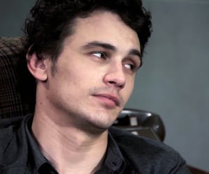 james franco and the letter image