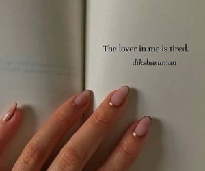 quotes, nails, and book image