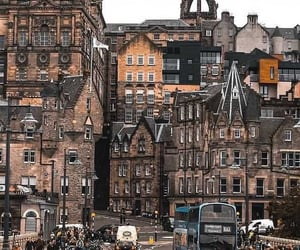 aesthetic, travel, and edinburgh image