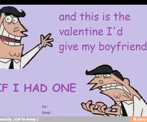 meme, Valentine's Day, and fairly odd parents image